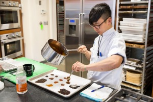 Test cook Tim Chin compares caramels made with different types of sweeteners.