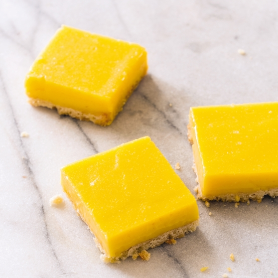 Honey-Lemon Squares
